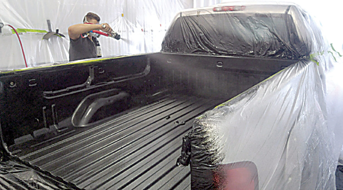 adds sprayon bed liner news sports jobs the