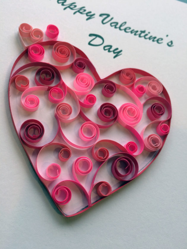 Create Cards With Quilling Paper Craft Perfect For Valentines Day