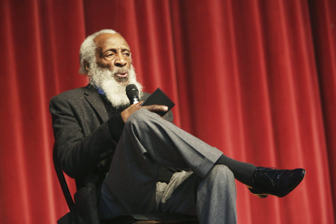 Civil Rights Activist Dick Gregory In Hospital Because Of Unknown Condition