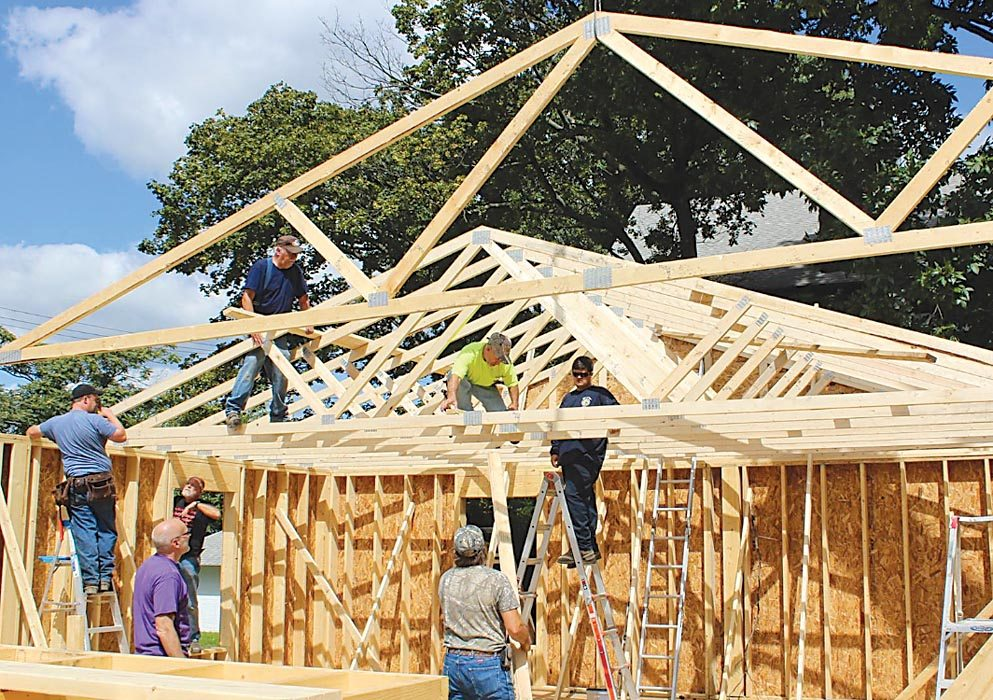 Habitat For Humanity Building Home For Family News