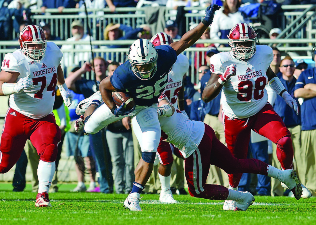 Defense roars as Penn State pastes Northwestern