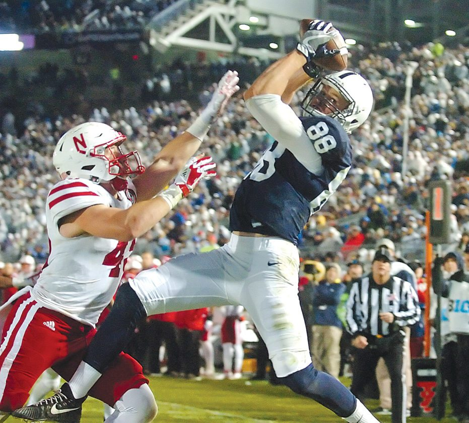 Penn State's dominant second quarter means all smiles in Happy Valley