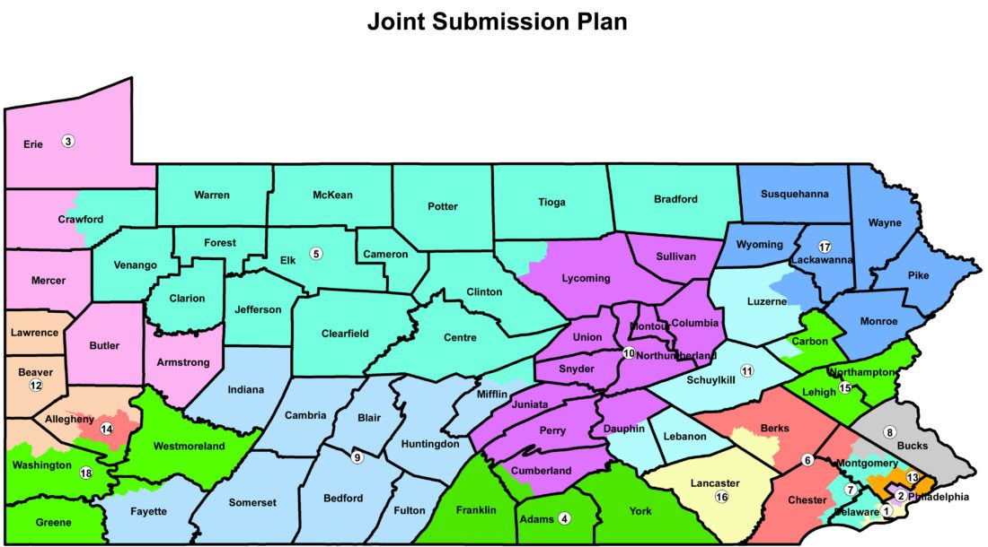 New Pa. maps sent to court for review | News, Sports, Jobs - Altoona ...