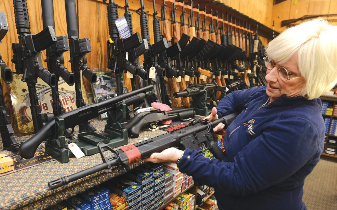 Retailers Tighten Gun Sale Policies