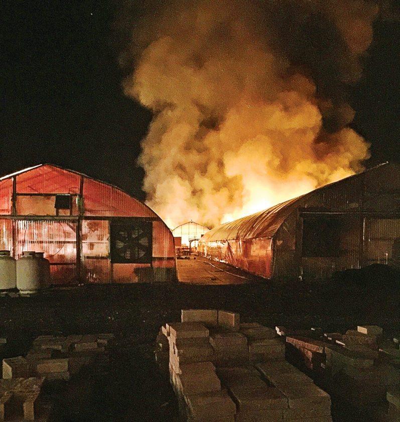 Fire Engulfs Martinu0027s Garden Center | News, Sports, Jobs   Altoona Mirror