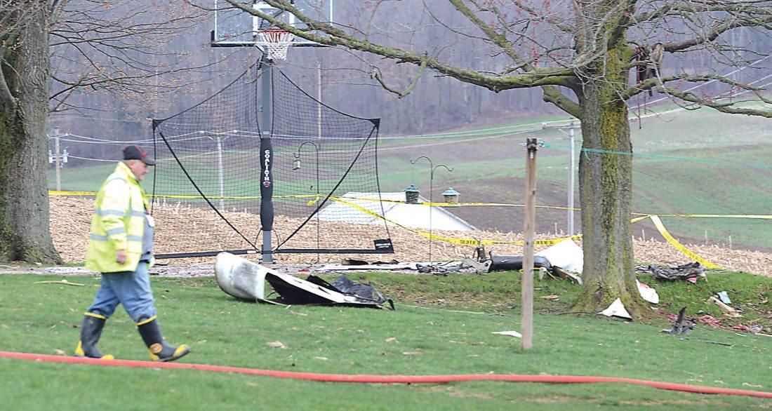 Two killed in Williamsburg plane crash