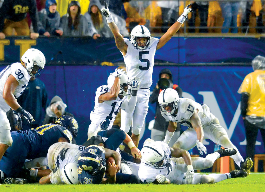 Penn State Football Rolls Through Pitt, 51