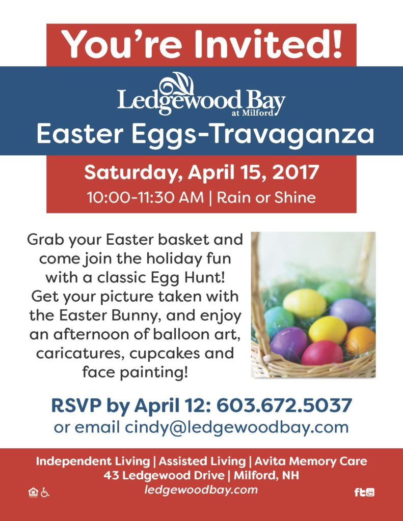 Eggs-Travaganza' planned at Ledgewood Bay | News, Sports, Jobs ...