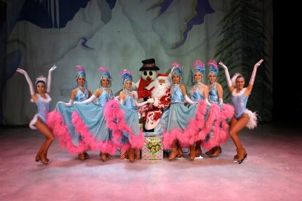 Christmas on ice island resort and casino
