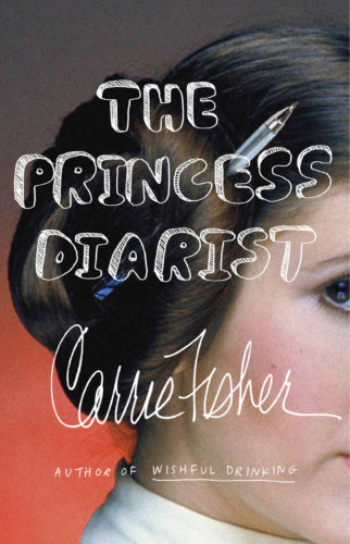 """This cover image released by Blue Rider Press shows """"The Princess Diarist,"""" by Carrie Fisher. (Blue Rider Press via AP)"""