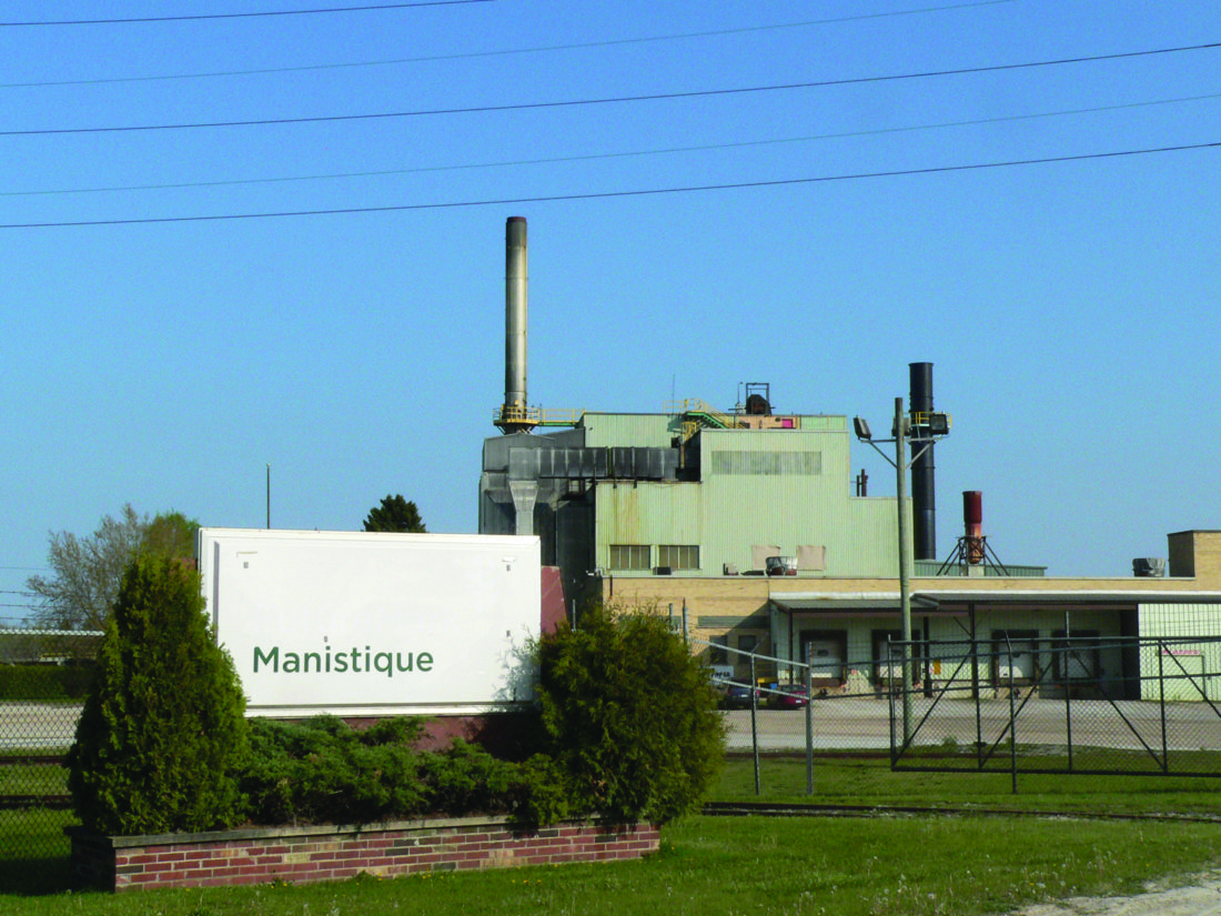Jordan Beck   Daily Press Manistique's paper mill, which is expected to re-open as UP Paper, LLC in mid-June, is pictured above. Co-owner Stanley Zellar said he believes this will have a positive financial impact on the community.