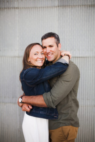 Heather Chaillier and Daniel Pecora