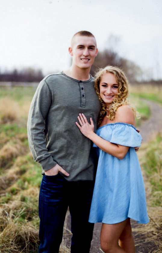 Samuel Pouliot and Haley Martineau