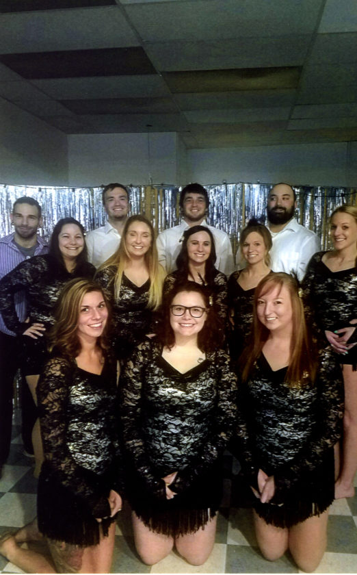 Courtesy photo Members of K-Dance Express' senior troupe will perform at its annual revue on Saturday at Gladstone High School in the Cowen Auditorium.