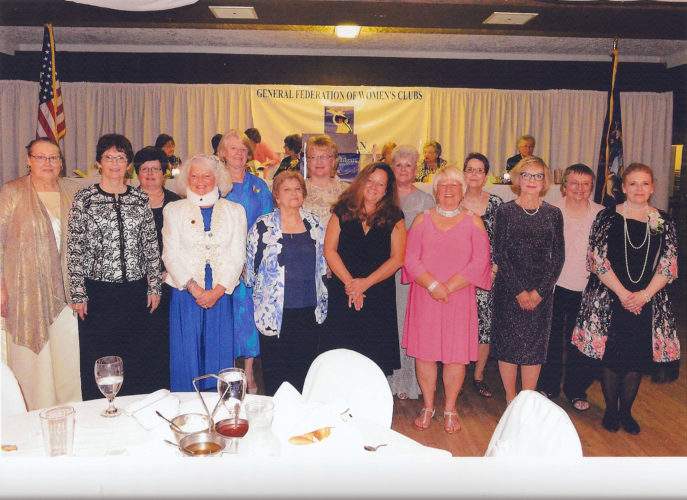 Courtesy photo Pictured are the Upper Peninsula ladies that were honored as Ms. Federation: GFEC Escanaba, Diane Lahtinen; GFWC Iron Mountain/Kingsford, Germaine Edwards; GFWC Manistique, Shirley Leitgeb; GFEWC Menominee, Francy Mullen, and GFWC Newberry, Marie Nicholson.