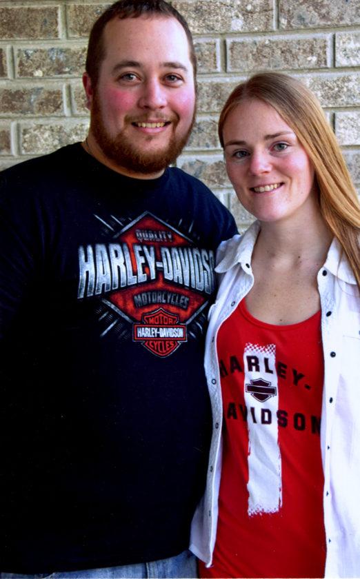 Kelli Arnold and Wade Johnson Jr.
