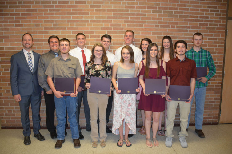 Tech Ed HS inducts wpic