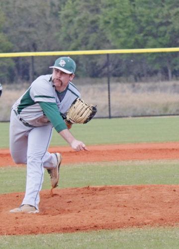 Courtesy photo Gladstone's Justin Jurek has been a key pitcher in helping Delta College to the NJCAA Division III World Series.