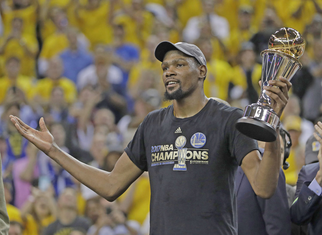 Facts About NBA Finals MVP Kevin Durant