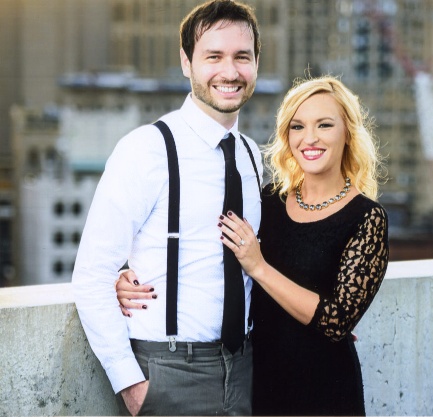 Amber Dundas and Kenneth Knauf Jr.
