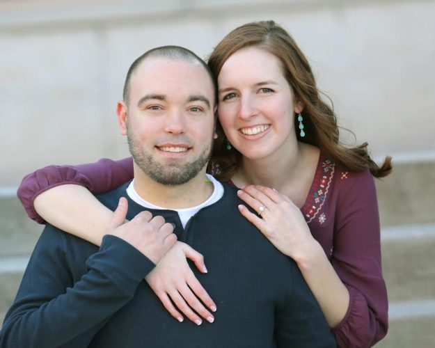Erin Patterson and Justin Alworden