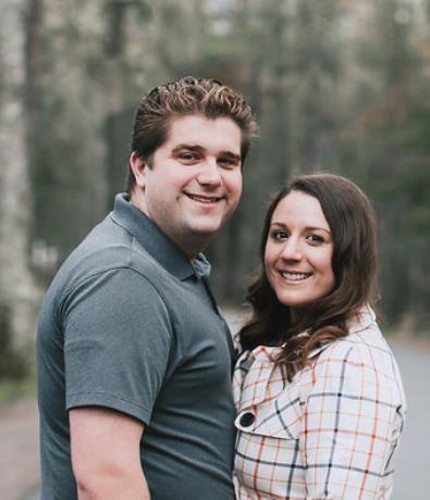 Hayley DeMay and Shaun Range