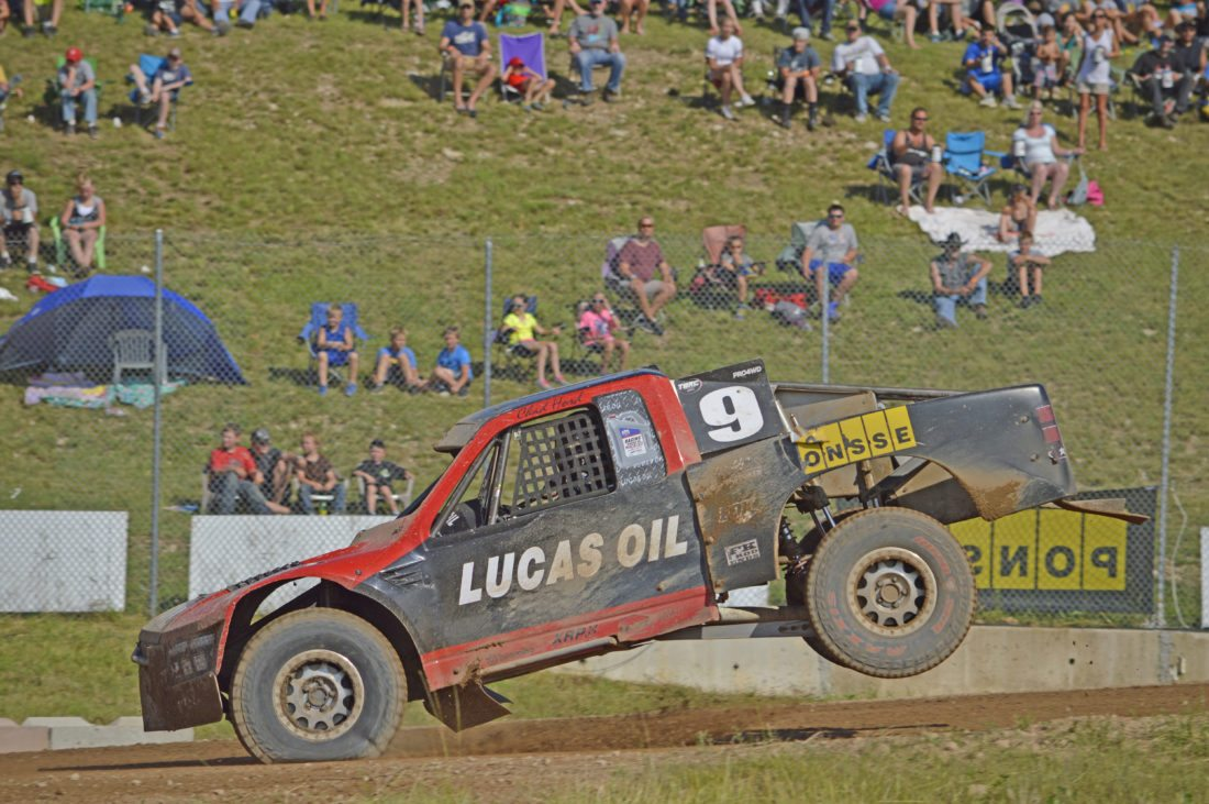 Ilsa Matthes | Daily Press Chad Hord of Felch placed third in Saturday's Pro 4-Wheel Drive event.