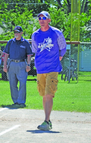 Mike Mattson   Daily Press Head coach Rick Pepin led the Gladstone Little League Girls' Minor (9-10) All-Stars to a Final Four finish.