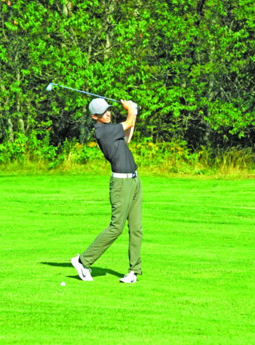 Steve Brownlee | Mining Journal Houghton's Gunnar Stein won the UPGA championship tournament Sunday at Wawonowin Country Club.