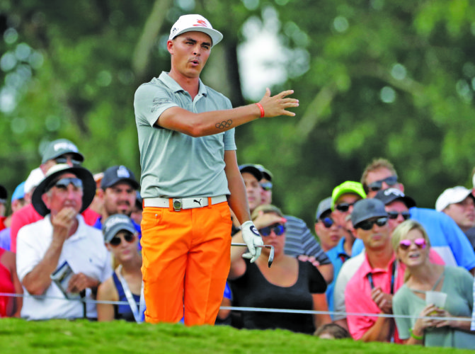 AP photo Rickie Fowler's game should make him a winner in a major tournament.