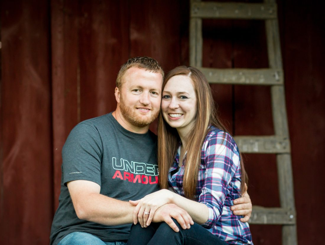 Rebecca Aerts and Craig Mathieson