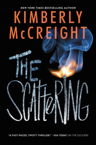 "This cover image released by Harper Teen shows, ""The Scattering,"" by Kimberly McCreight. (Harper Teen via AP)"