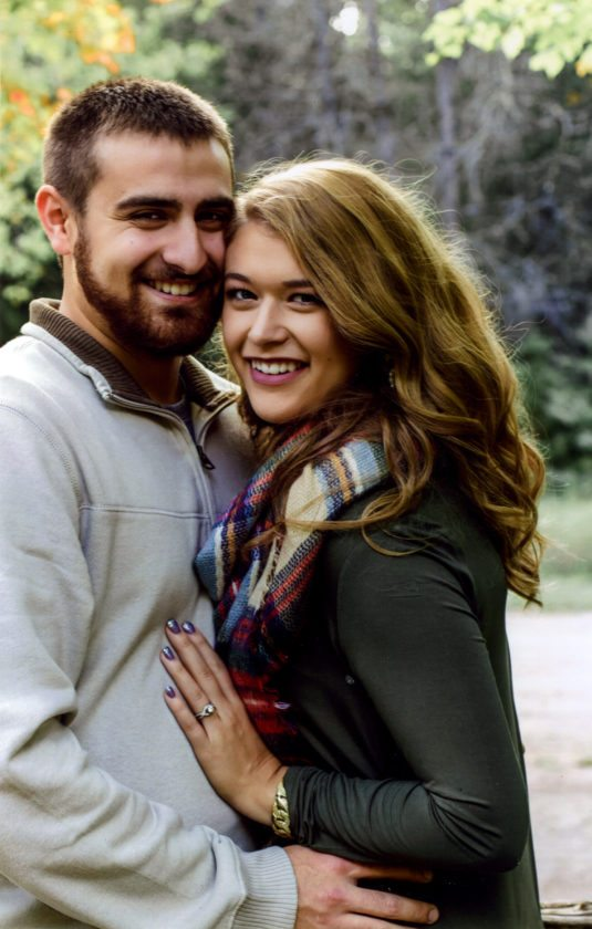 Amber Schram and Ethan Dombrowski