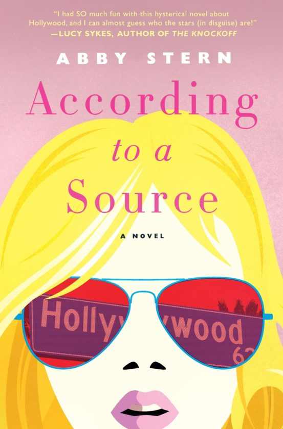 "This cover image released by Thomas Dunne Books shows ""According to a Source,"" a novel by Abby Stern. (Thomas Dunne Books via AP)"