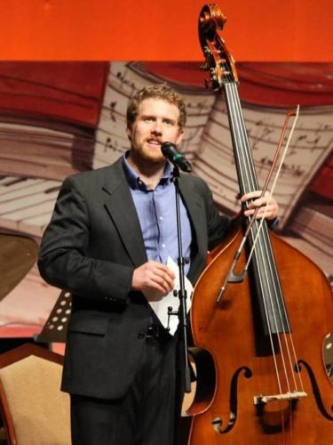 Courtesy photo Pictured is Evan Premo, artistic director of Beethoven and Banjos. The concerts for the community will be at Reynold's Recital Hall on Northern Michigan University Campus, Ontonagon Theater of Performing Arts, and Crystal Theatre in Crystal Falls.