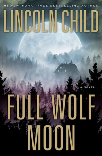 "This cover image released by Doubleday shows ""Full Wolf Moon,"" by Lincoln Child. (Doubleda via AP)"