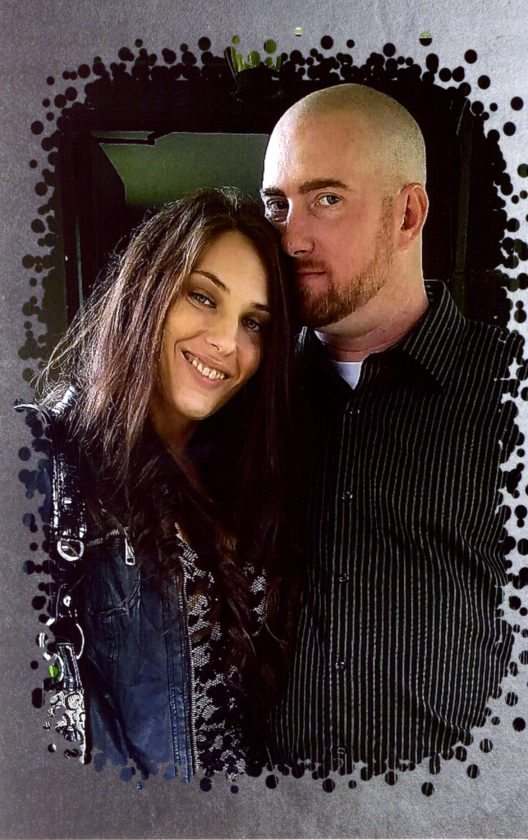 Joyce Bengston and Eric Clute