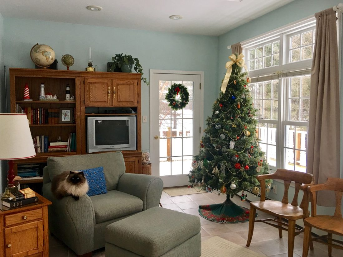 Courtesy photo The living room of the Fouts home is the perfect place to set up a tree during the holiday season.