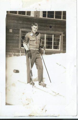 Karen Wils photo My dad back in 1947 skiing in Canada.