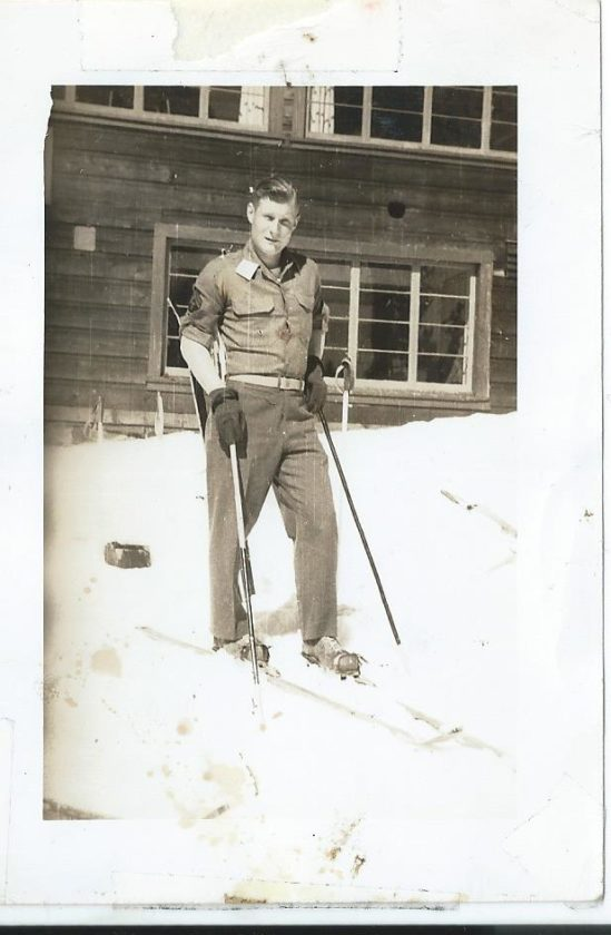 Karen Wils photo My dad back in 1947 skiing in Canada.