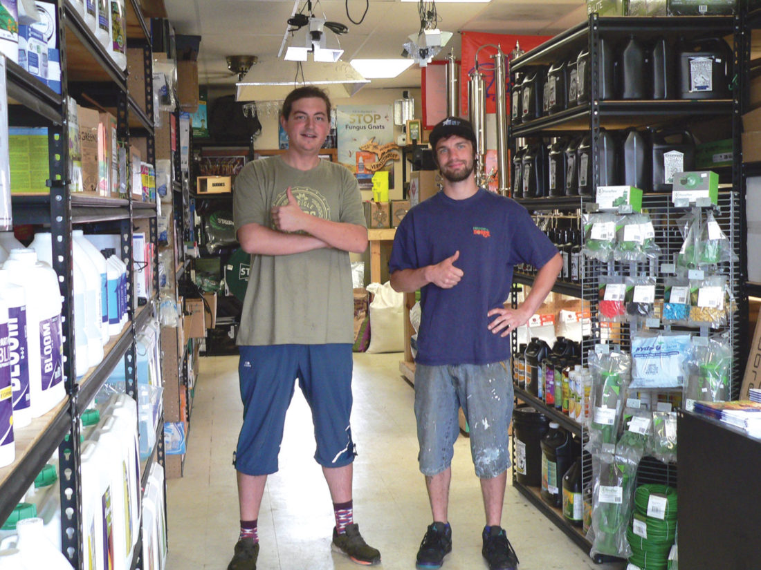 Jordan Beck | Daily Press All Season Garden Supply Co Managers Jim Lilly,  Left, And Max Martin Are Pictured Along With Many Of The Products Sold At  The ...