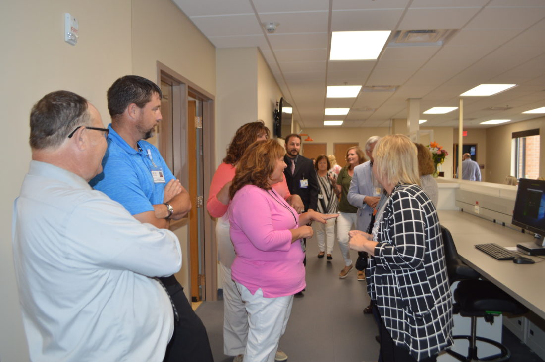 local hospital marks completion of lab news sports jobs daily