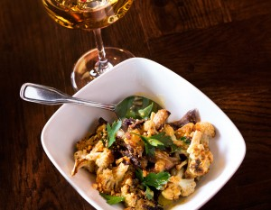 Fire-Roasted Cauliflower from 800 Degrees Three Fires, photography by Neal Bruns