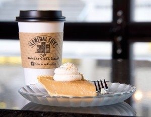 Central City Cafe's sugar cream pie, photography by Neal Bruns