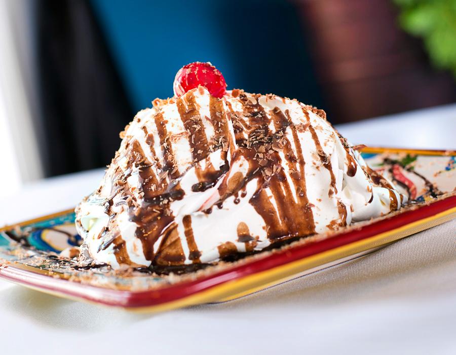 Das Schnitzelhaus' Black Forest Cherry Cake, photography by Neal Bruns