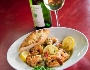 Paula's Classic Shrimp Scampi, photography by Neal Bruns