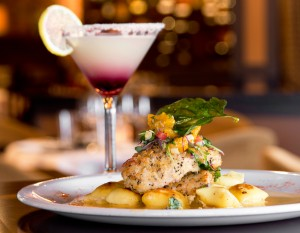 Baker Street's Chicken L'orange with gnocchi. Photography by Neal Bruns