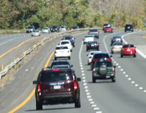 Watch out for highway traffic jams, the state highway department warns.