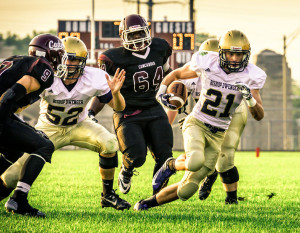 Bishop Dwenger vs. Concordia 2014, photography by Ellie Bogue