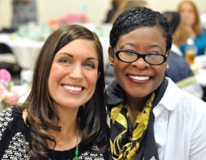 The Smart Girls, Brilliant Women luncheon for the Boys & Girls Club was Nov. 6, 2014, at the club. Erin Erb, Patricia Reeves